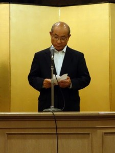 国土交通大臣表彰を受章された小池毅理事